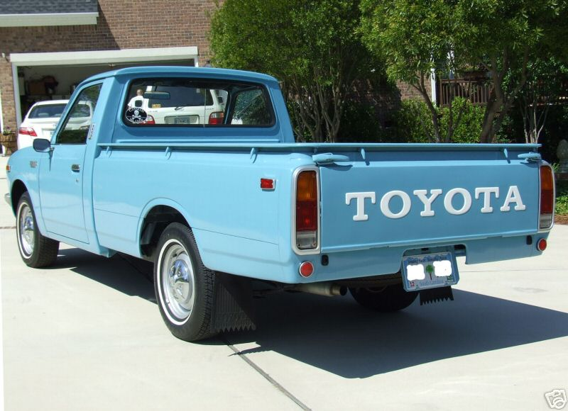 rare toyota trucks 1974 toyota hilux for sale on ebay. Black Bedroom Furniture Sets. Home Design Ideas