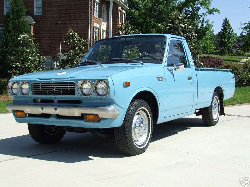 Rare»Toyota Trucks! » 1974 Toyota Hilux For Sale on Ebay!