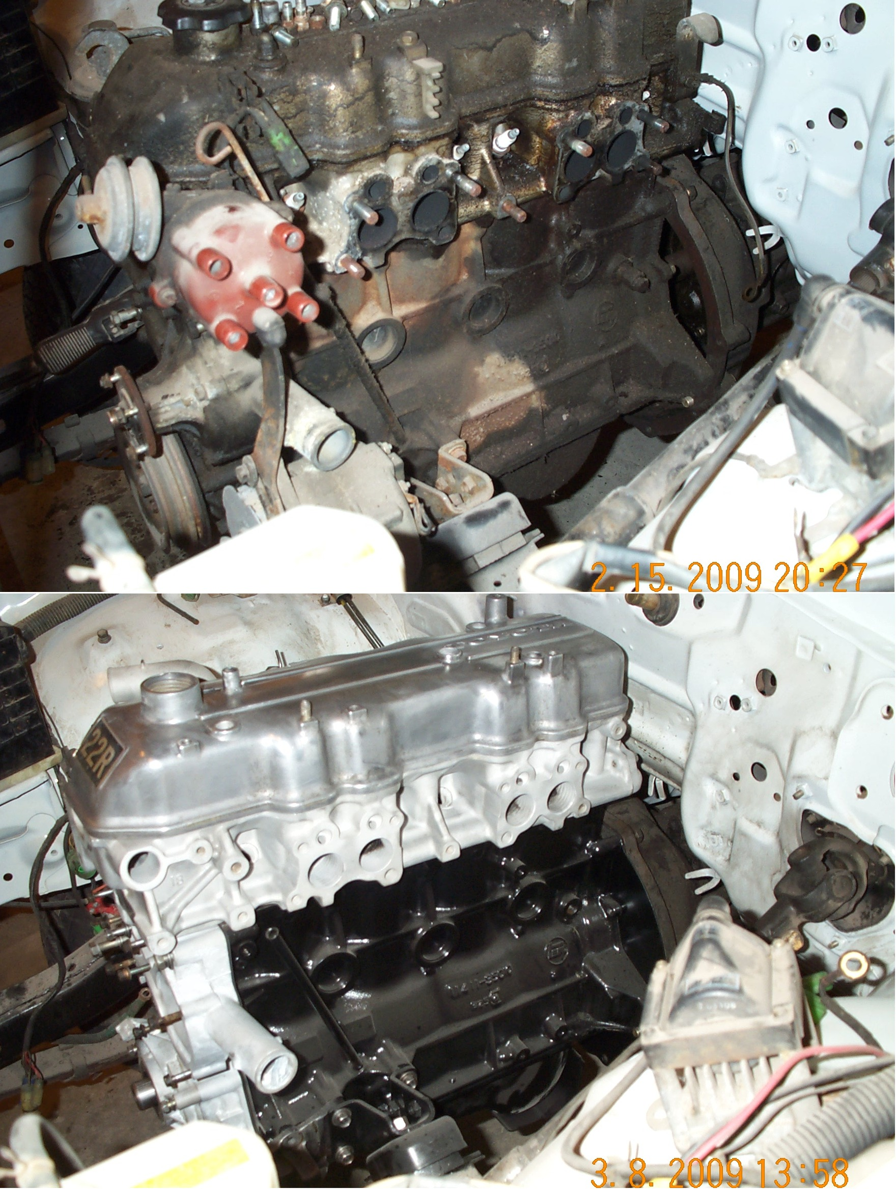22R Toyota engine