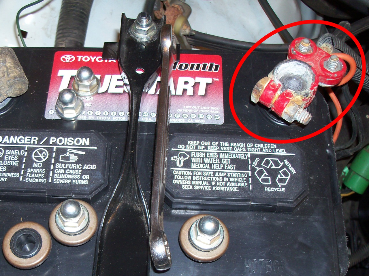 Raretoyota Trucks 2011 April Wiring Harness For Old The Terminal Was Clamped Onto Wires So Original Connectors Had Been Cut Off There No Good Way To Attach Fusible